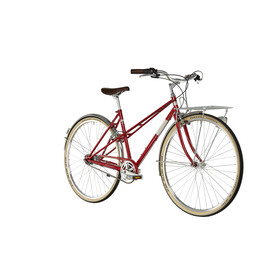 Ortler Bricktown Bicicletta da città Donna rosso